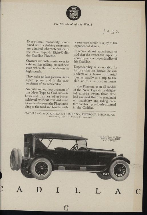 Cadillac 1922 UL2 0001