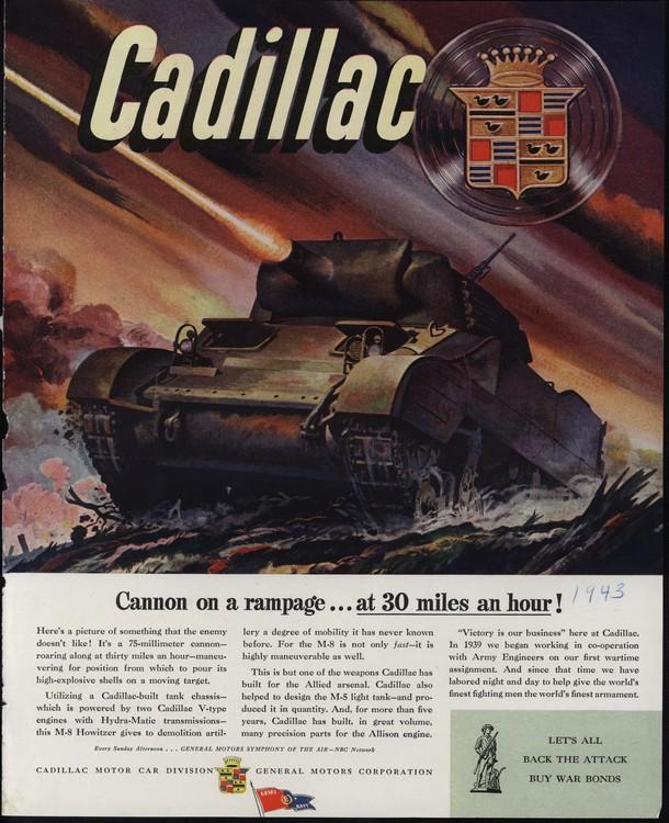 Cadillac 1943 UL2 0001