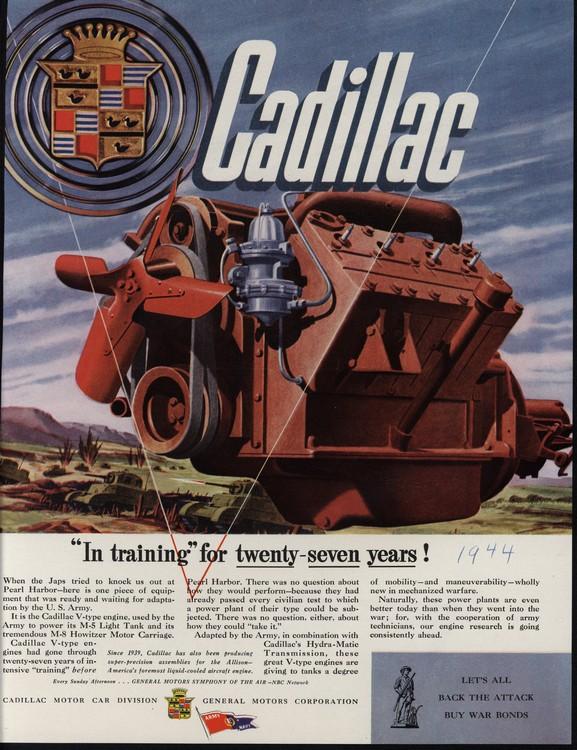 Cadillac 1944 UL2 0001