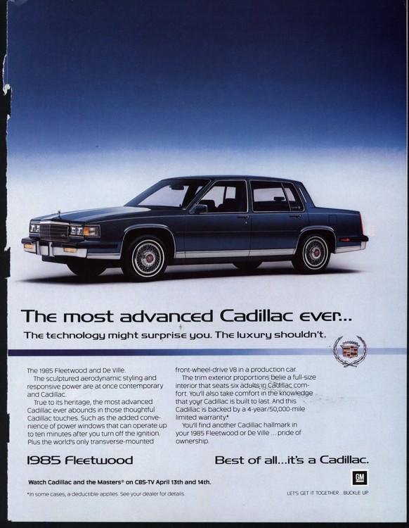 Cadillac 1985 UL2 0003