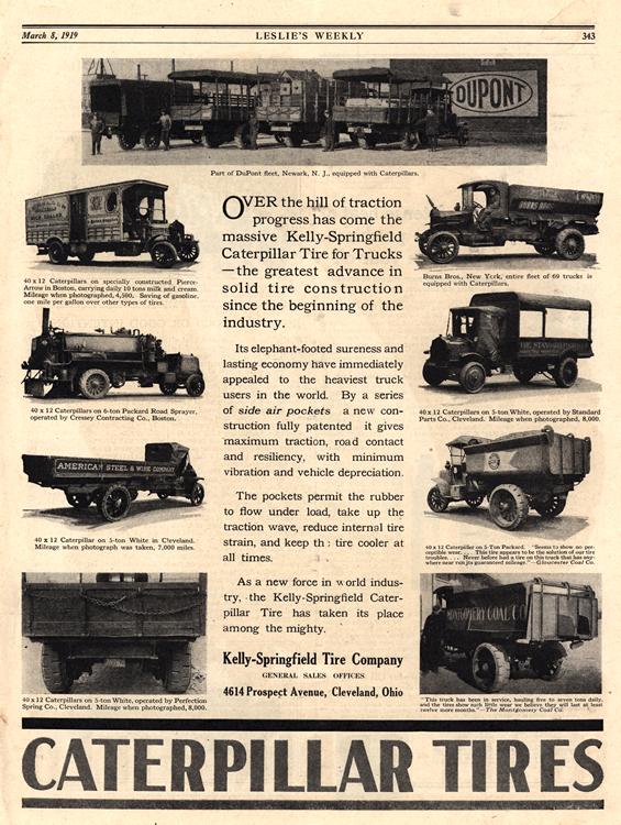 Caterpillar Tires 1919 0001