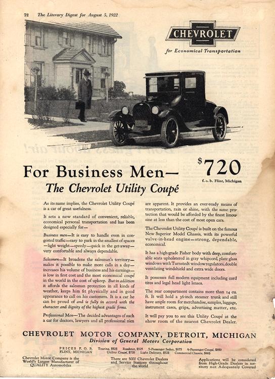 Chevrolet 1922 0001