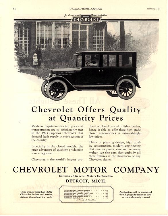 Chevrolet 1923 0001