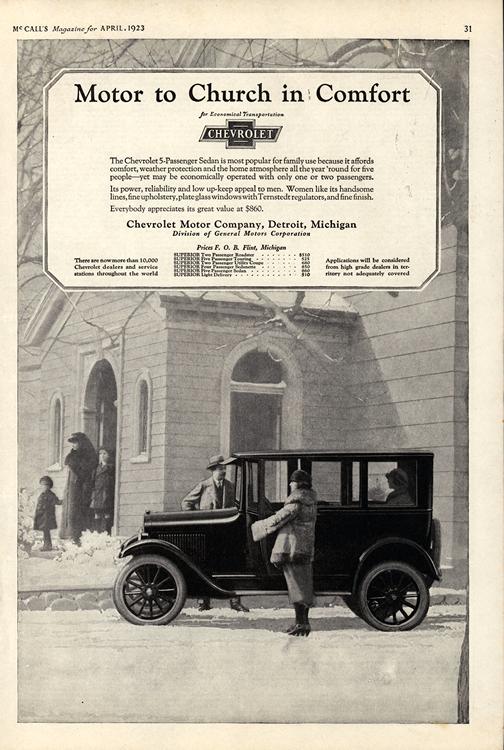 Chevrolet 1923 0009