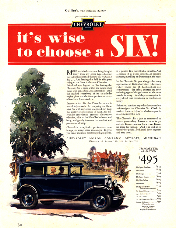 Chevrolet 1930 0010
