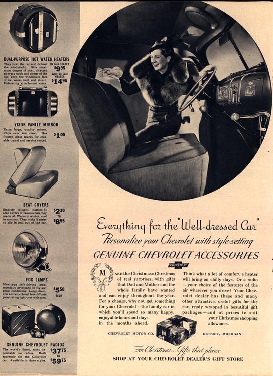 Chevrolet 1937 Accessories 0001