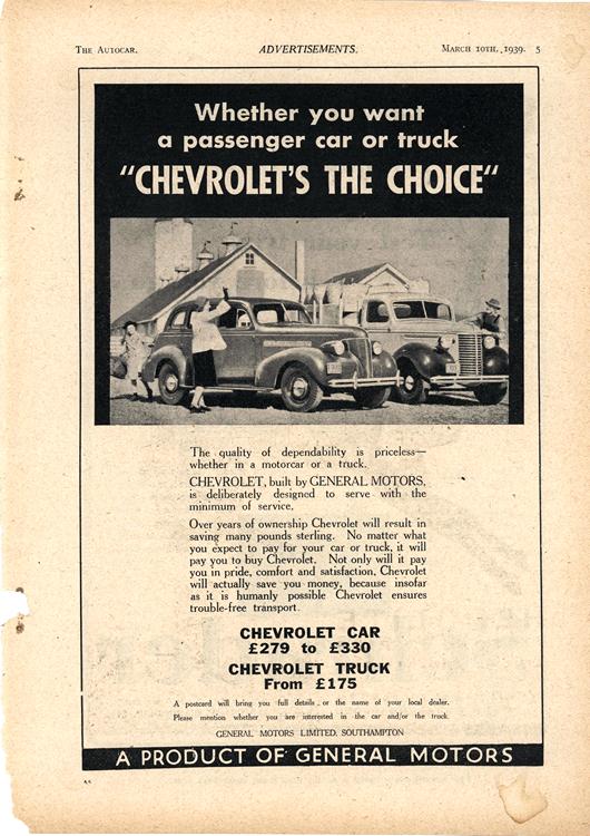 Chevrolet 1939 0005