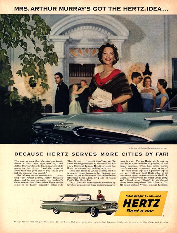 Chevrolet 1959 0007 Hertz