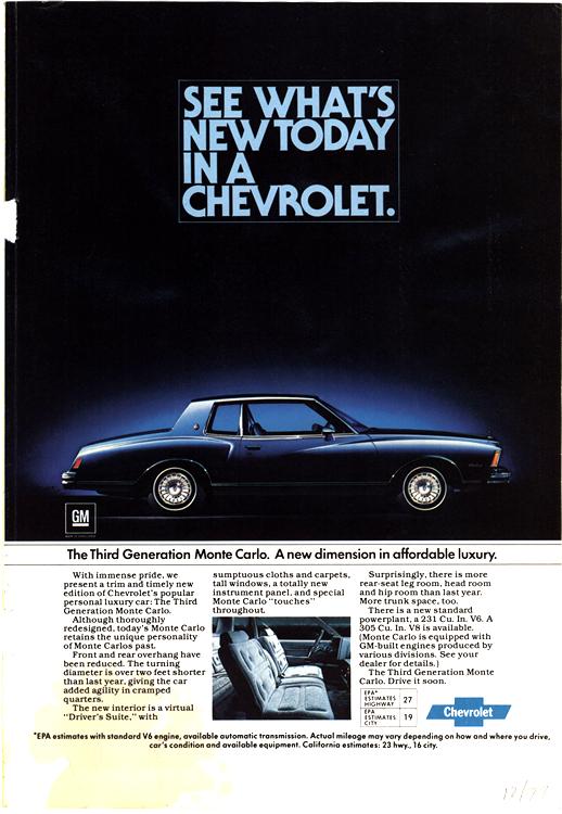 Chevrolet 1977 0002