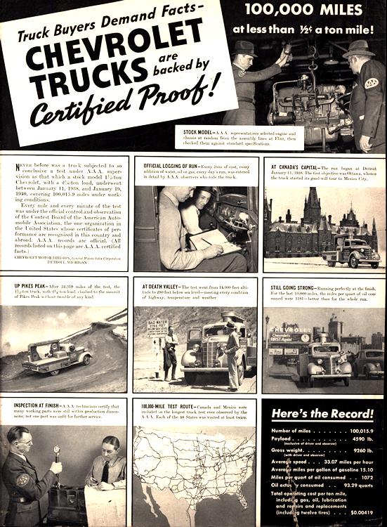 Chevrolet Truck 1940 0003