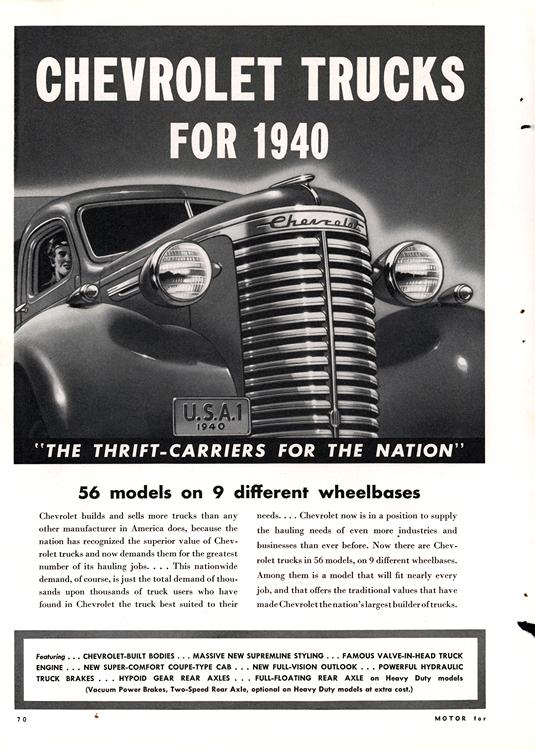 Chevrolet Truck 1940 0004