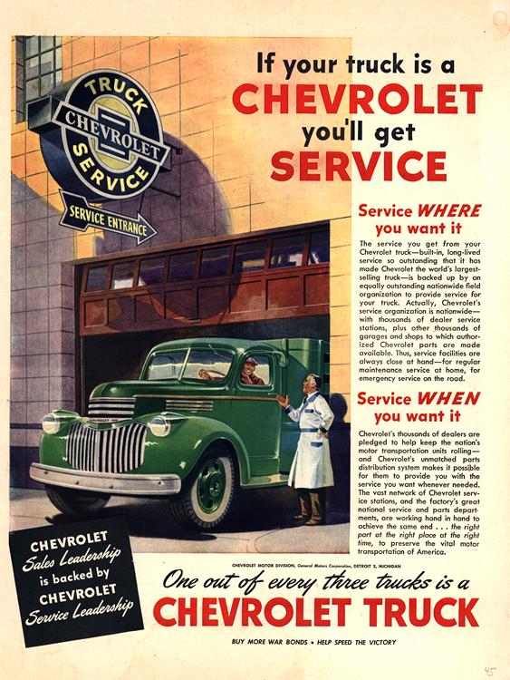 Chevrolet Truck 1945 0001
