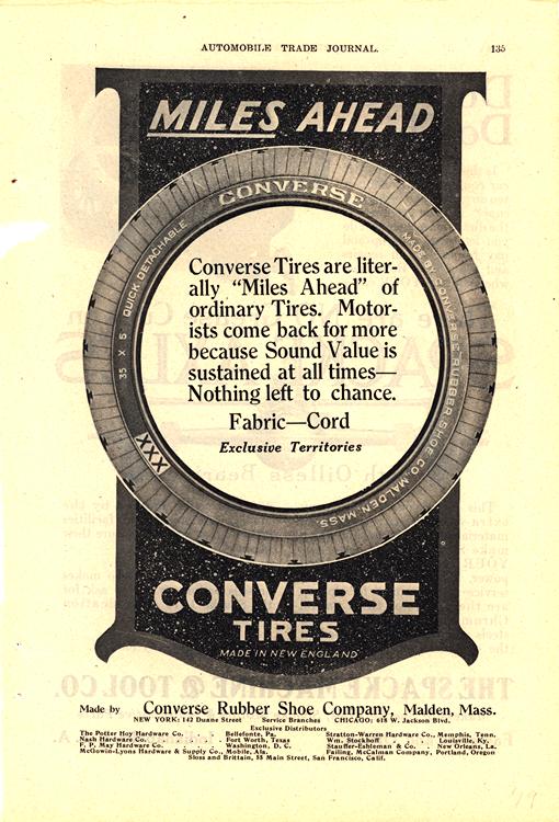 Converse Tires 1919 0001