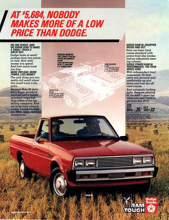 Dodge Truck 1985 0011