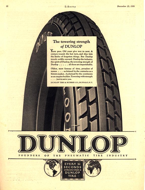 Dunlop Tires 1926 0001