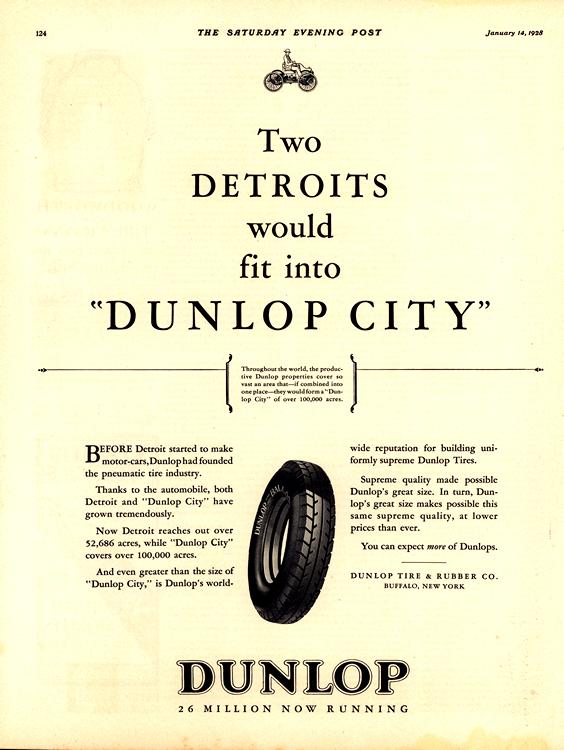 Dunlop Tires 1928 0001