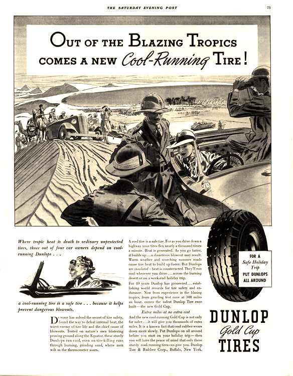 Dunlop Tires 1937 0001