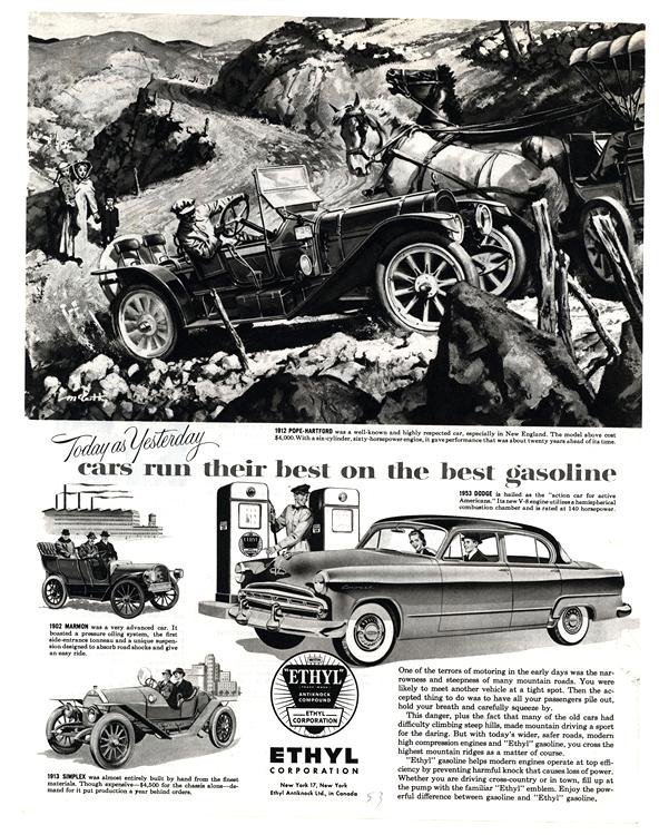 Ethyl Gas 1953 Dodge 0001