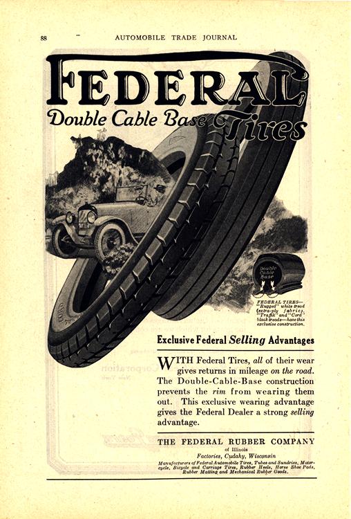 Federal Tires 1920 Ca 0001