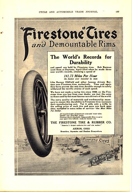 Firestone Tires 1911 0001