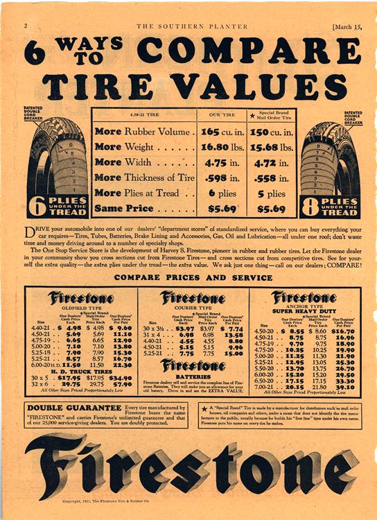 Firestone Tires 1931 0001