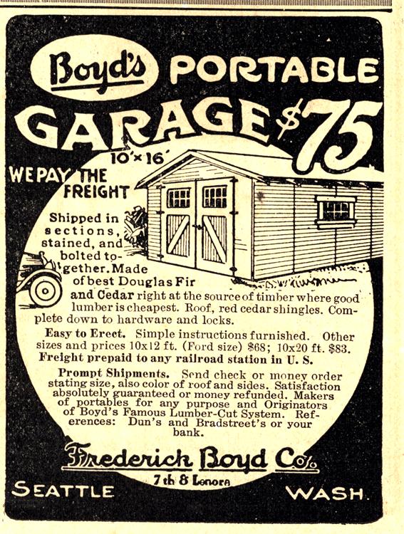 Frederick Boyd Co. Garage 1916 0001