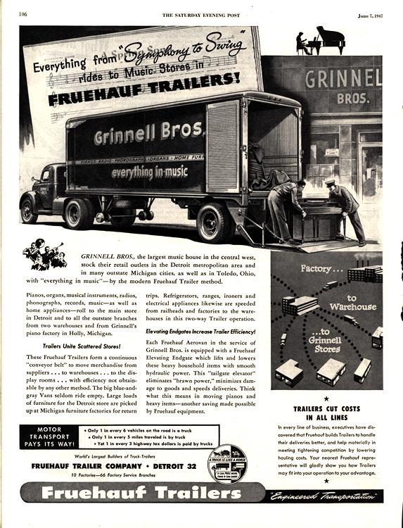 Fruehauf Trailers 1947 0001