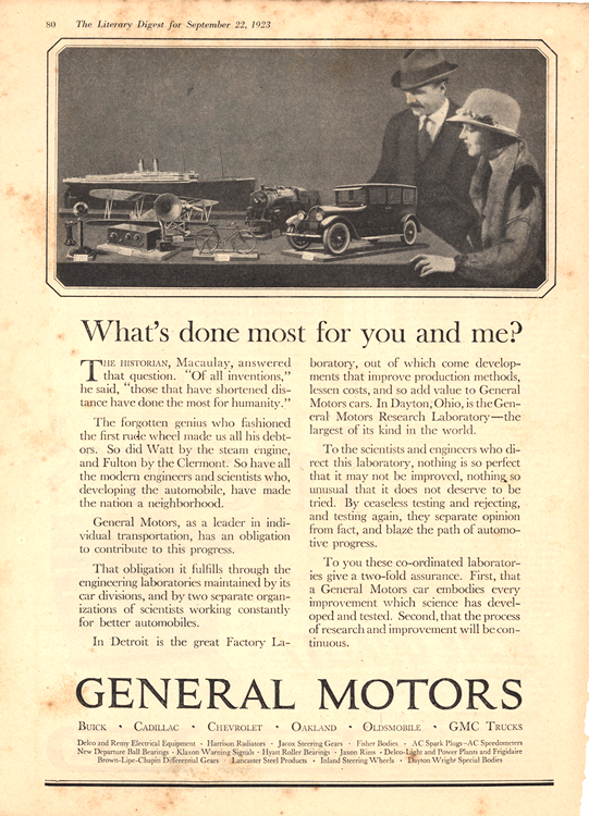 General Motors 1923 0001