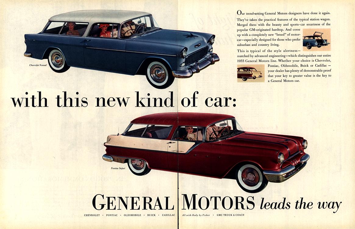 General Motors 1955 Chevrolet Pontiac Merge 0001