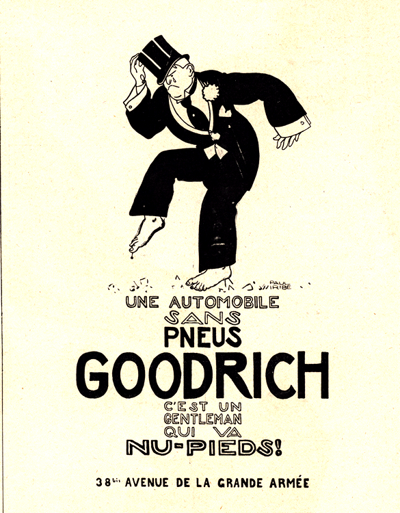 B. F. Goodrich Tires 1912 0001