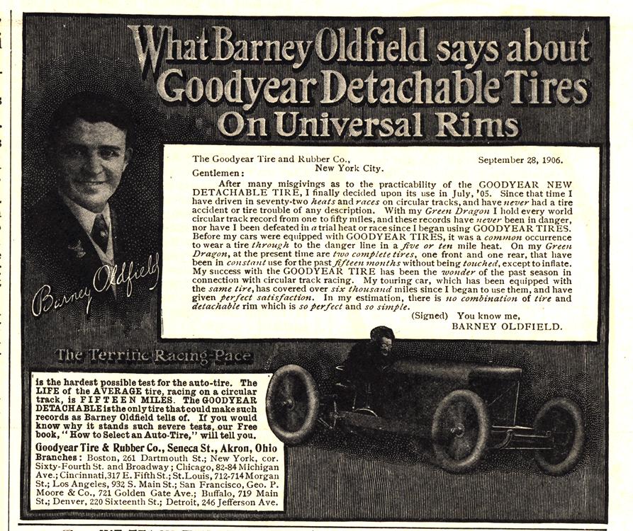 Goodyear Tires 1907 0001