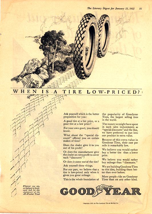 Goodyear Tires 1922 0001