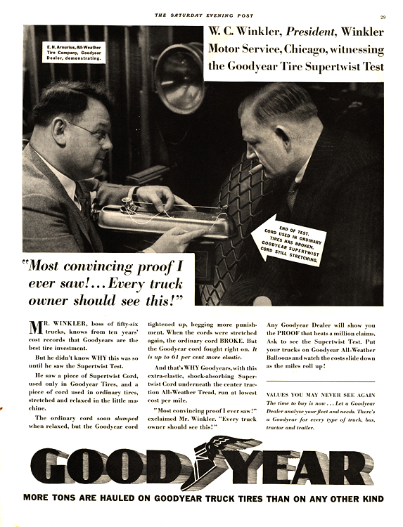 Goodyear Tires 1933 0001