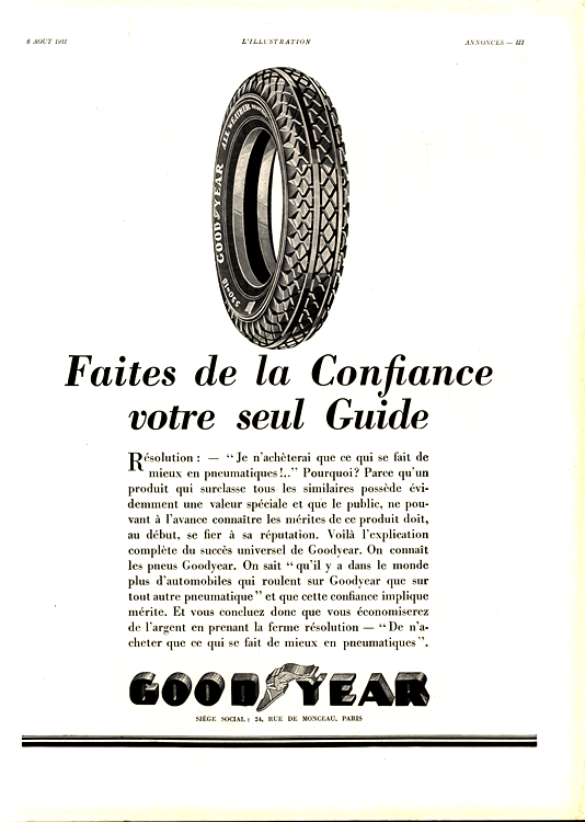 Goodyear Tires 1931 0002