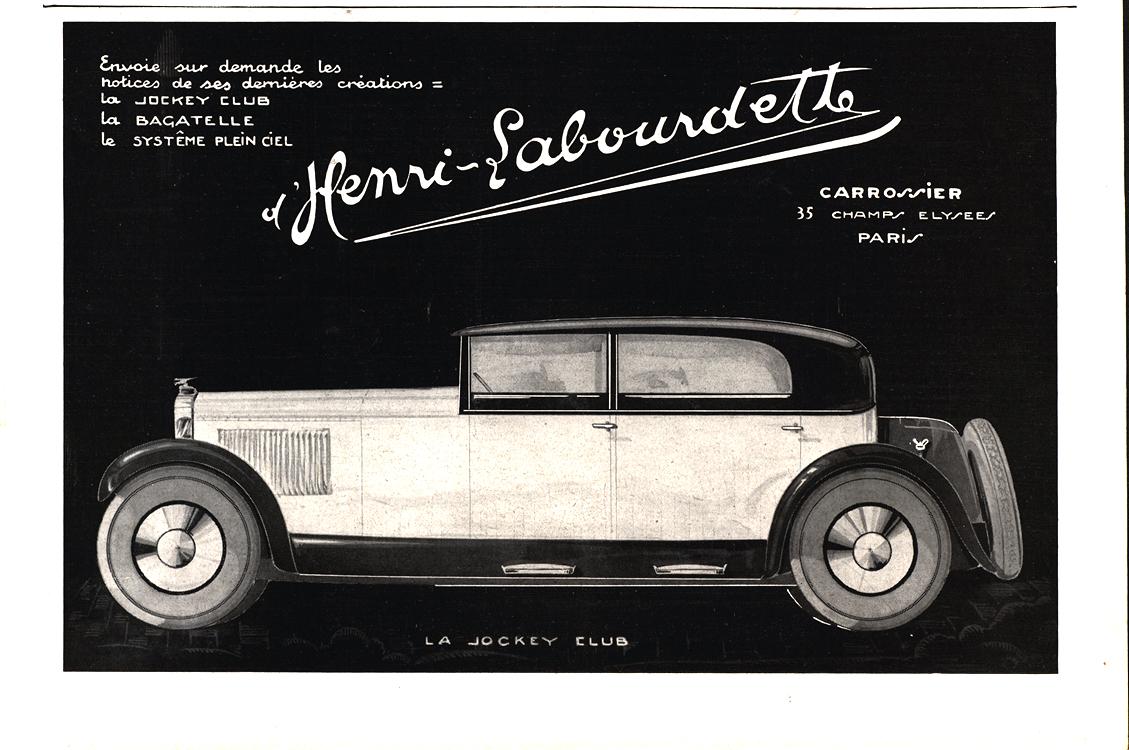 Henri-Labourdette 1928 Coachbuilder 0001