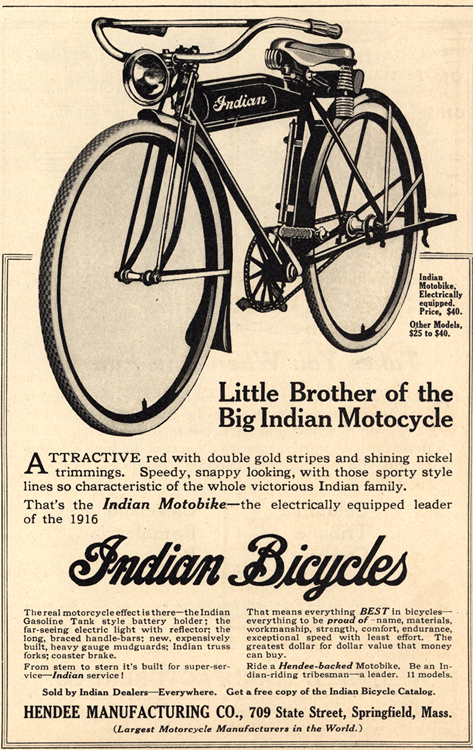Indian Bicycle 1916 0001