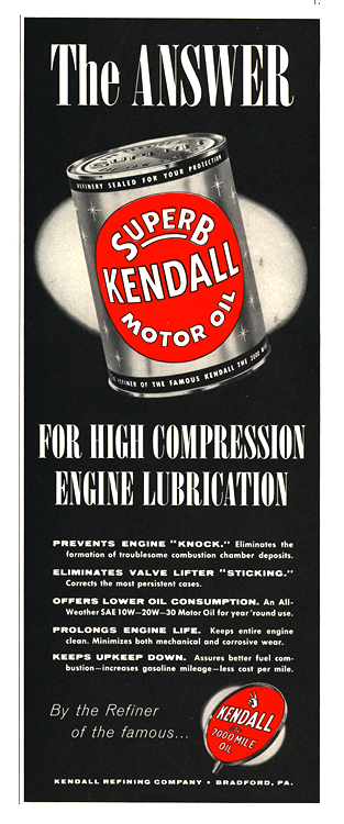 Kendall Oil 1954 0001