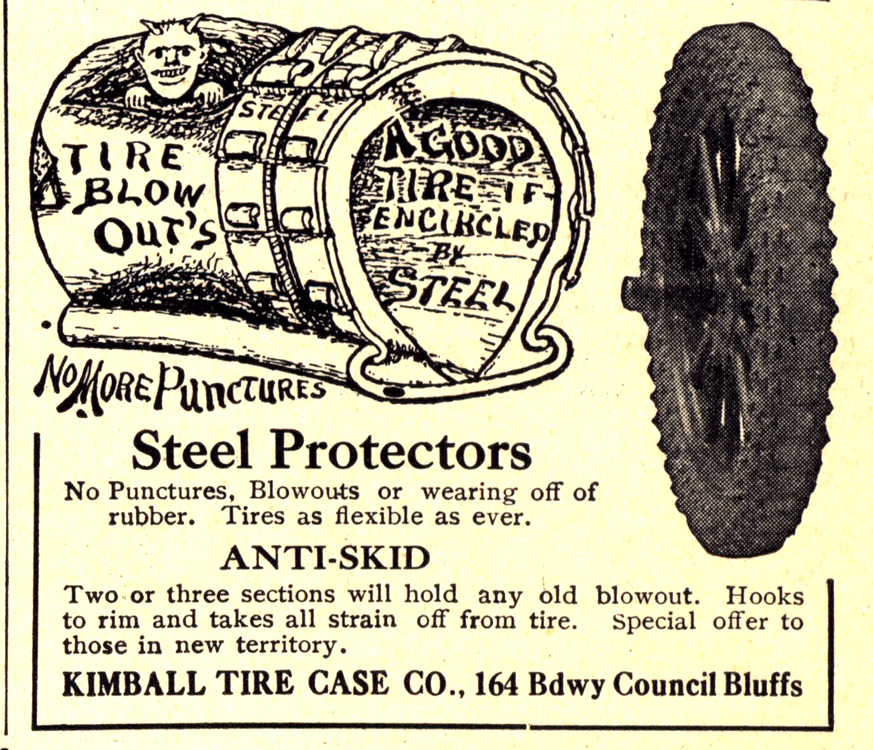 Kimball Tire Case Co. Accessories - Tires 1913 0001