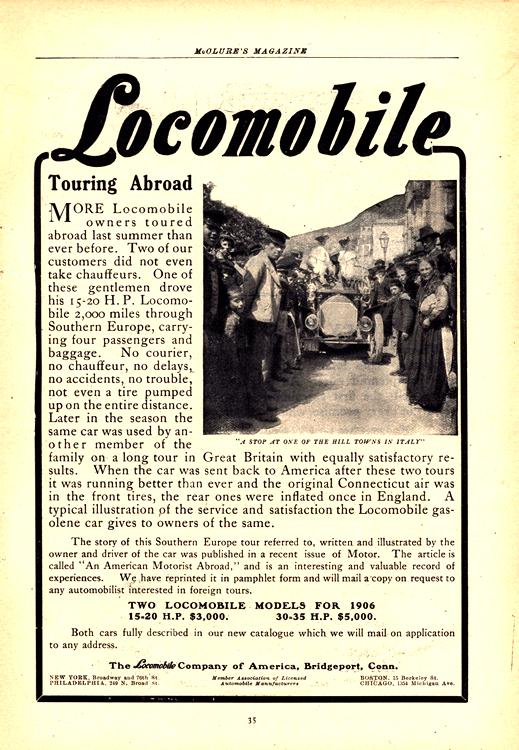 Locomobile 1906 0001