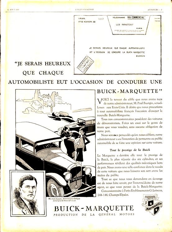 Marquette 1930 Buick 0001b