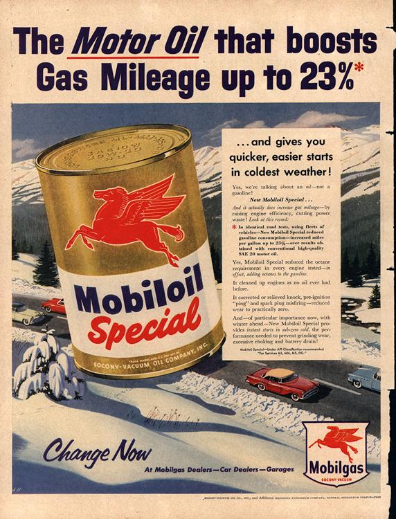 Mobil Oil 1955 0001