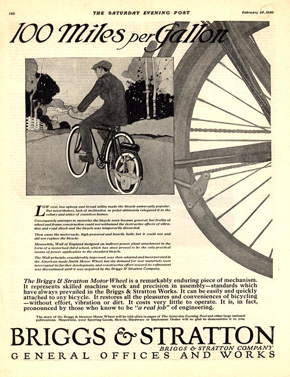 Motorcycles Briggs-Stratton 1920 0004
