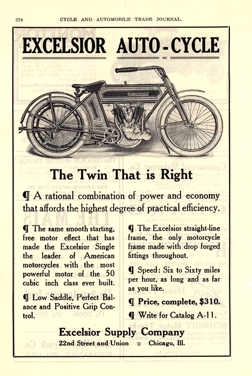 Motorcycles Excelsior 1911 0001