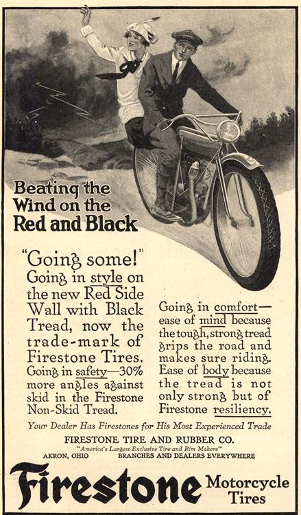 Motorcycles Firestone Tires 1916 0001