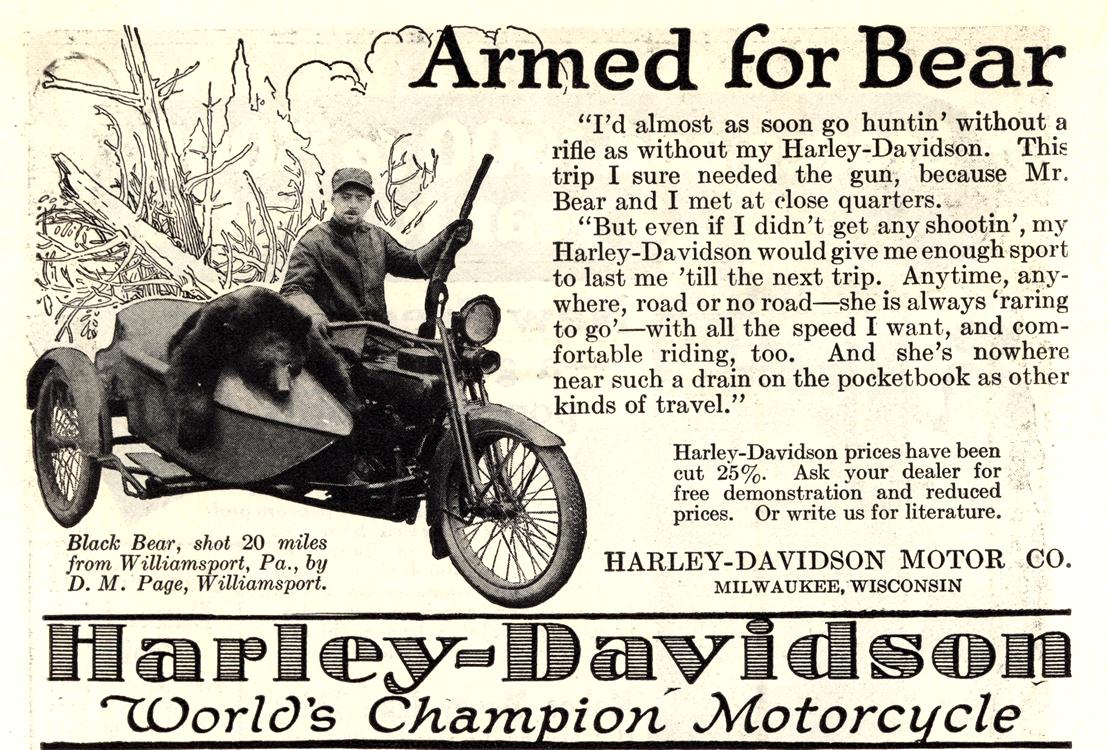 Motorcycles Harley Davidson 1922 0001