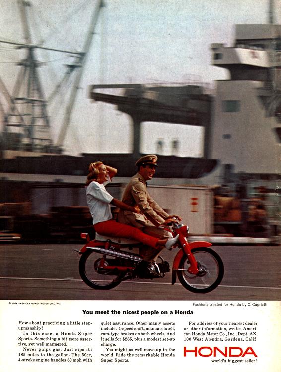 Motorcycles Honda 1964 0002