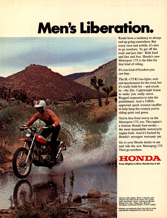 Motorcycles Honda 1971 0001