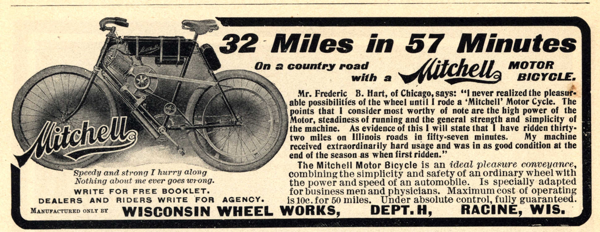 Motorcycles Mitchell 1902 0001