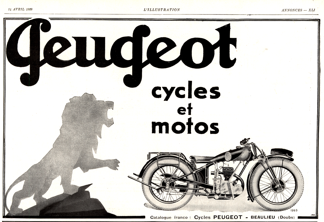 Motorcycles Peugeot 1928 0001