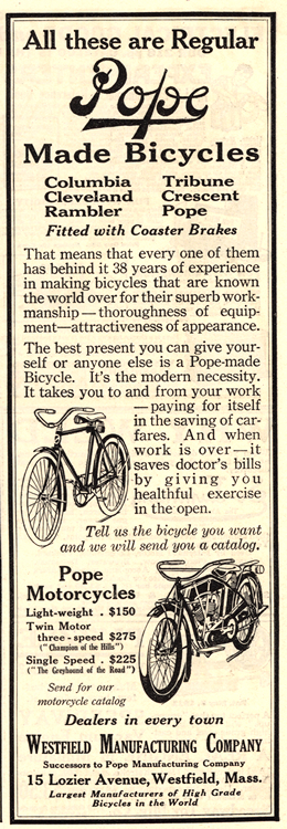 Motorcycles Pope 1915 0001